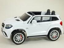 Dětské elektrické autíčko pro 2 děti , Mercedes GLS63 , náhon  4x4 , bílá