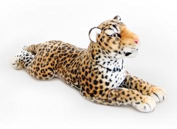 Plyšový leopard ležící