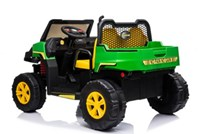 Dětské el . Farmářské  autíčko s 2,4G dálkovým ovladačem  zeleno-žluté