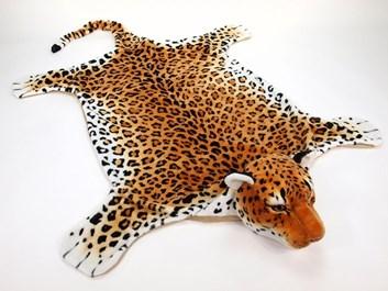 Plyšová předložka - gepard - XL