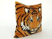 Plyšový polštářek vzor tygr