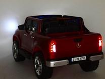 Mercedes – Benz X-Class 4x4, dvoumístný pick up s 2.4G DO, plynulým rozjezdem,USB,Mp4 přehrávač, čalouněním, EVA koly  XMX606.blue