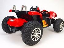 Dětské autíčko Buggy pro 2 děti červená