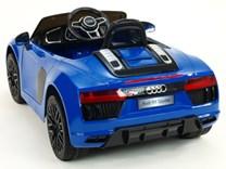 Dětské el. autíčko Audi R8 Spyder s 2.4G DO JJ298.blue