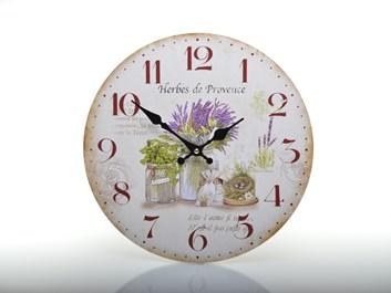 Nástěnné hodiny Herbes de Provence