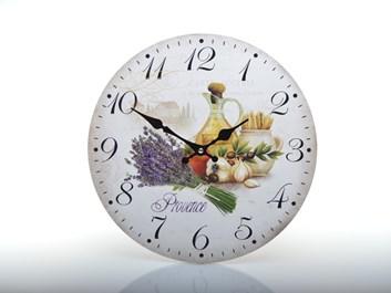 Nástěnné hodiny do kuchyně PROVENCE