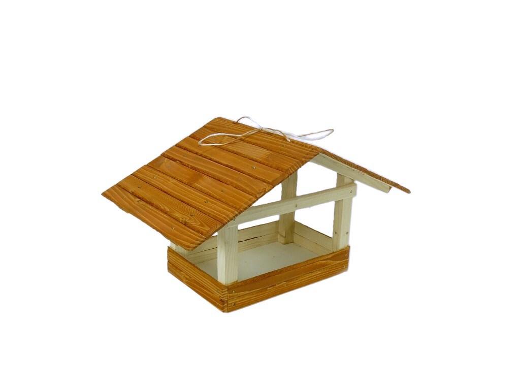 Krmítko pro ptáčky ze dřeva