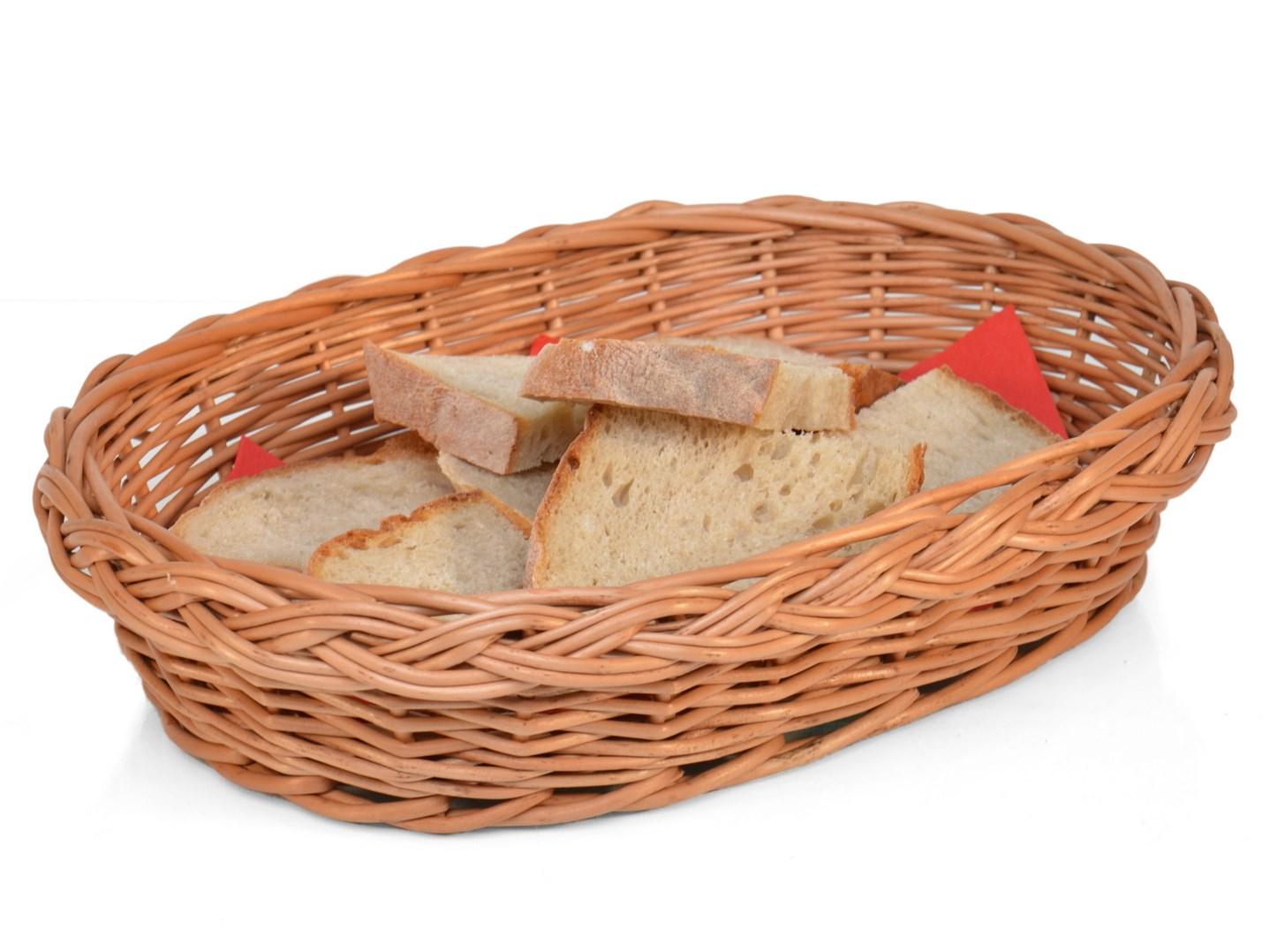 Proutěná ošatka na chléb V.