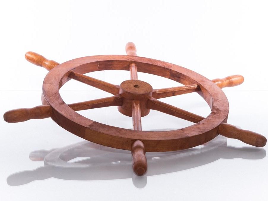 Kormidlo dřevěné 74 cm - pinie