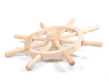 Dřevěné kormidlo