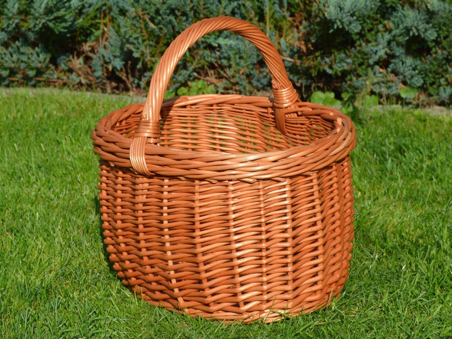 Proutěný nákupní košík Mája