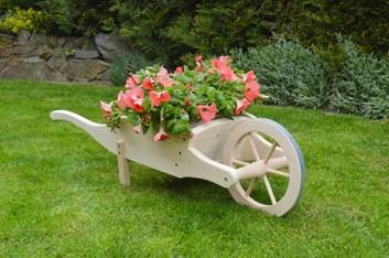 Trakař na květiny