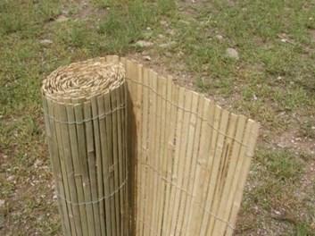 Bambusová rohož plotová, štípaná - výška 180 cm
