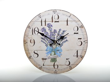 Nástěnné hodiny ve stylu Provence
