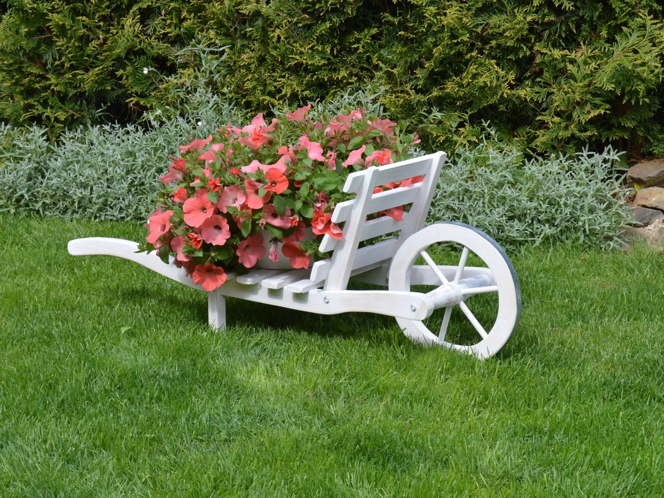 Trakař na zahradu
