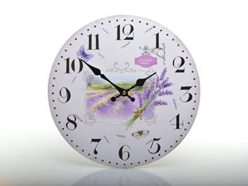 Nástěnné hodiny LAVENDER MANOR