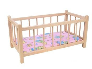 Dřevená postýlka pro panenky