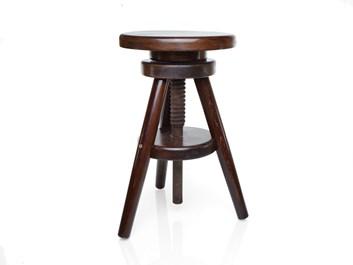 Klavírová židle PIANIN, nátěr ořech