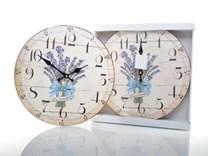 Nástěnné hodiny ve stylu provence HLC15523K
