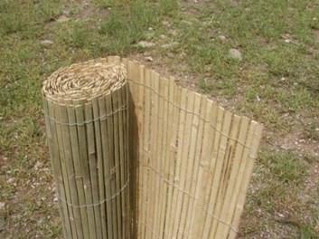 Bambusová rohož plotová, štípaná - výška 130 cm