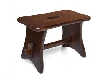 """Dřevěná stolička """"DOJIČKA"""" ořech"""