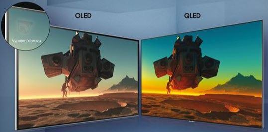 Srovnání QLED a OLED televizí a na co si dát pozor