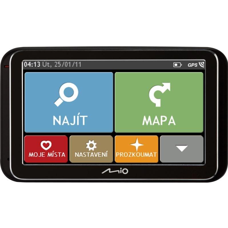 GPS navigace