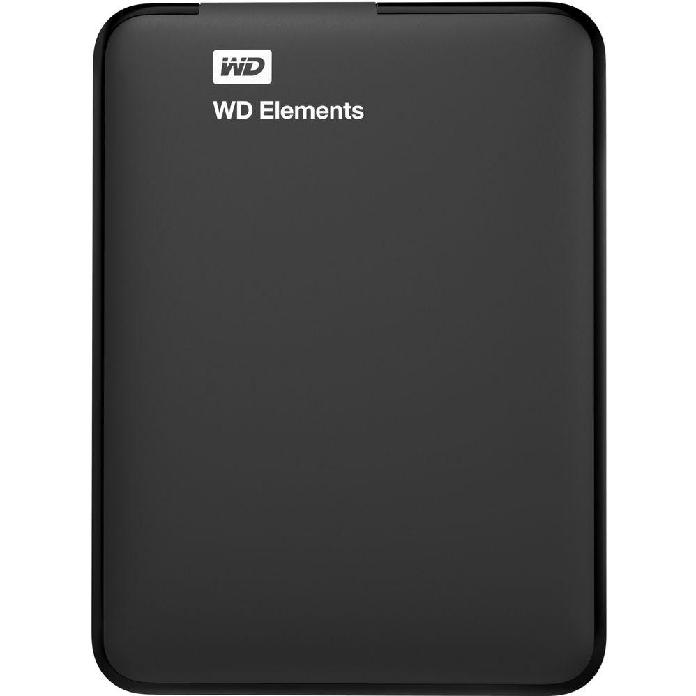 WD HDD 750GB USB3.0 BK