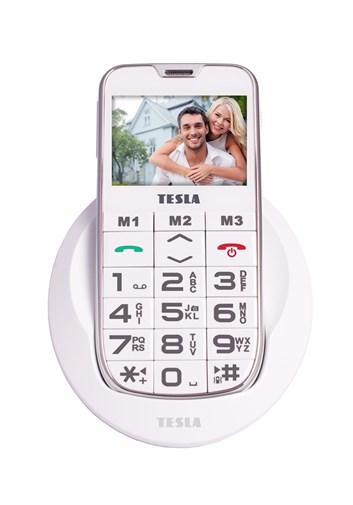 TESLA SimplePhone A50 bílá - mobilní telefon
