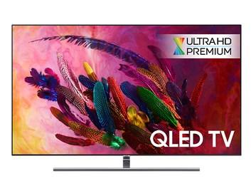 "SAMSUNG 65"" QE65Q7FN QLED ULTRA HD LCD televize"