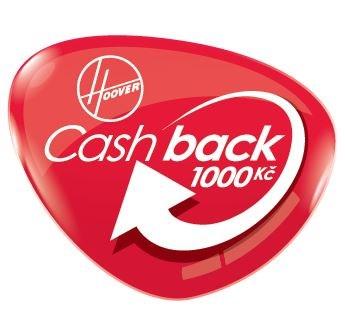 HOOVER CashBack 1 000 Kč