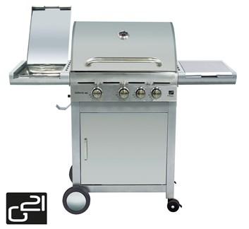 G21 California BBQ Premium line, 4 hořáky Plynový gril + zdarma redukční ventil