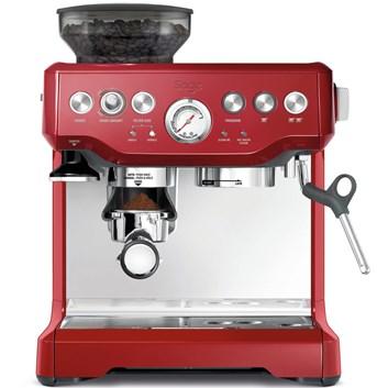 SAGE BES870CRN Espresso červené