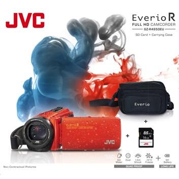 JVC GZ-R495DKIT FULL HD VODOTĚSNÁ KAMERA