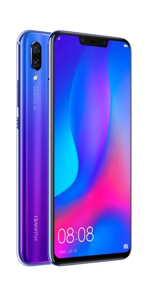 HUAWEI Nova 3 Dual Sim Purple mobilní telefon