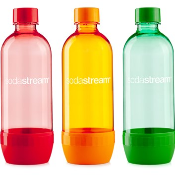 SODASTREAM Lahev TriPack 1l ORANGE/RED/BLUE