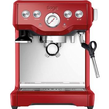 SAGE BES840CRN Espresso červené