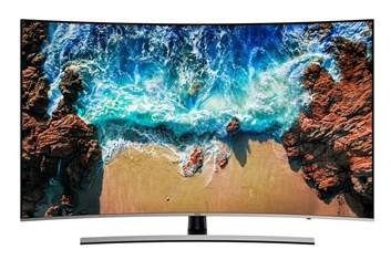 """SAMSUNG 55"""" UE55NU8502 LED ULTRA HD LCD prohnutá televize"""