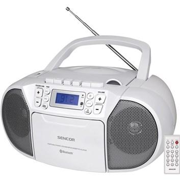 SENCOR SPT 3907 W Radiopřijímač s CD/USB/BT