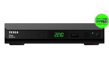 TESLA Duplex T2 - Dual DVB-T2 H.265/HEVC přijímač/rekordér