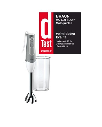 BRAUN MQ 500 Soup tyčový mixér