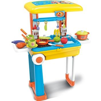 BUDDY TOYS BGP 3015 Kufr Deluxe dětská kuchyňka