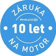 PHILCO 10 let záruka na motor