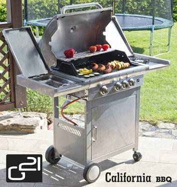 G21 California BBQ Premium line, 4 hořáky Plynový gril