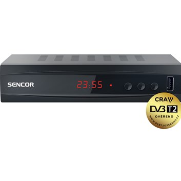 SENCOR SDB 5002T H.265 (HEVC) set-top box