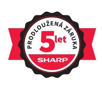 SHARP prodloužená záruka 5 let