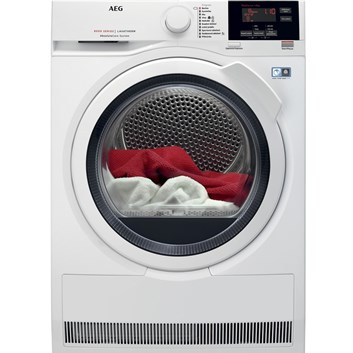 AEG AbsoluteCare® T8DEE68SC sušička prádla - rozbaleno