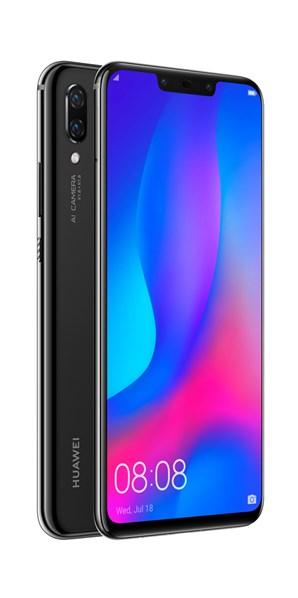 HUAWEI Nova 3 Dual Sim Black mobilní telefon
