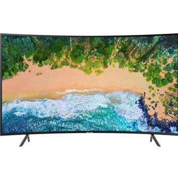 """SAMSUNG 65"""" UE65NU7372 LED ULTRA HD LCD TV prohnutá - poškozený obal"""
