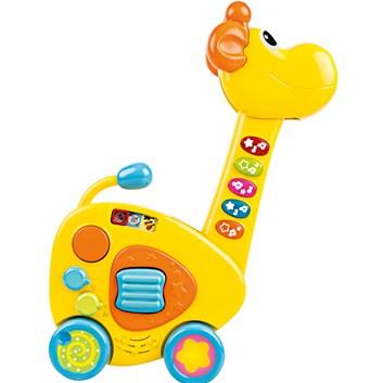 BUDDY TOYS BBT 3530 interaktivní dětská kytara Žirafa
